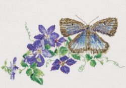 TG438A Butterfly-Clematis
