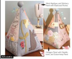 D296 MOUSE PINCUSHION