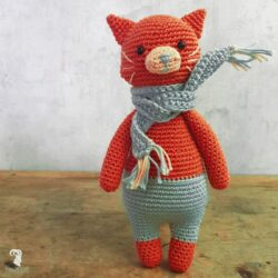 AMIGURUMI KIT PIXIE CAT CROCHET