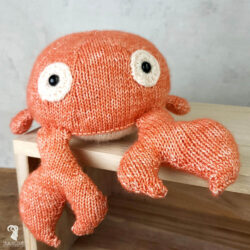 KIT CROCHET AMIGURUMI CRAB KAREL