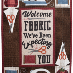 Colcha WELCOME FABRIC