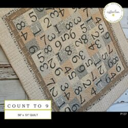 P137 COUNTRY TO 9 (QUILT 56″ X 51″)