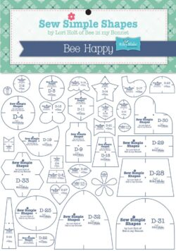 Bee Happy Shapes